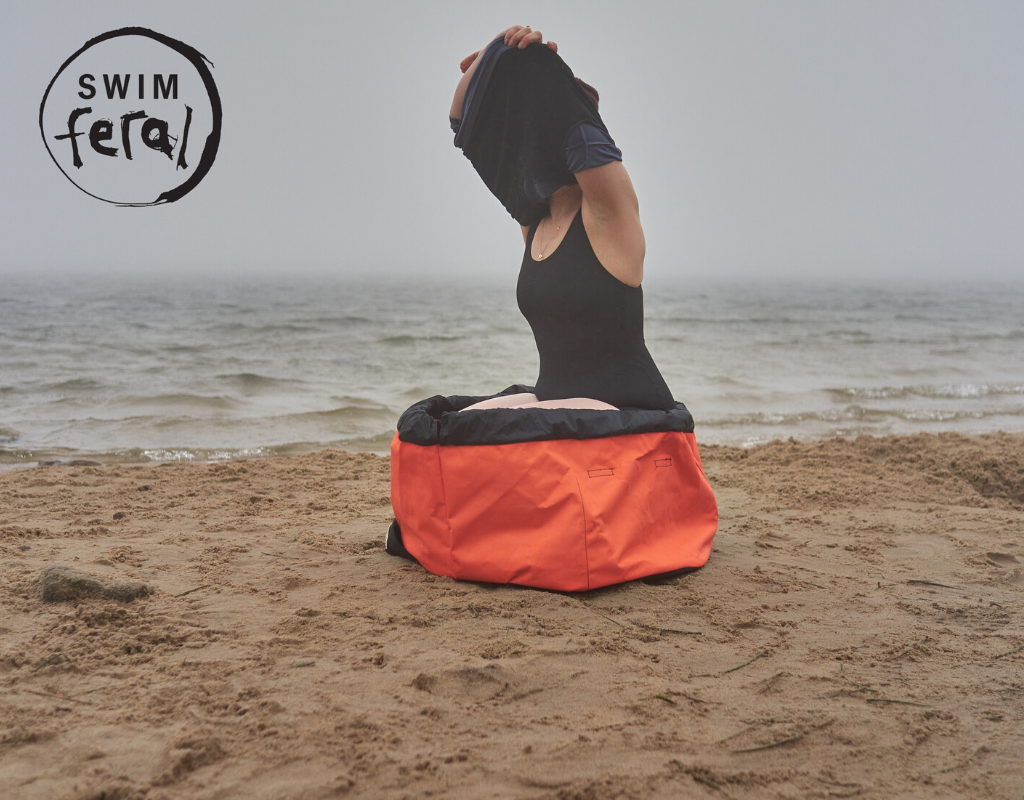 Introducing the Turtleback Bag for Wild Swimmers